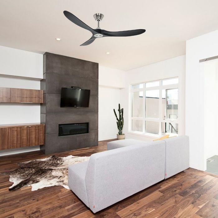 ventilateur de plafond sans lampe