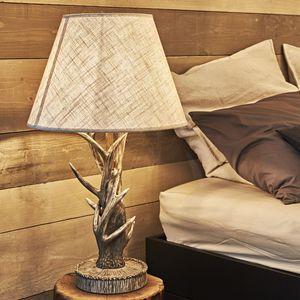 lampe bois de cerf