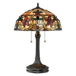 lampe tiffany rustique