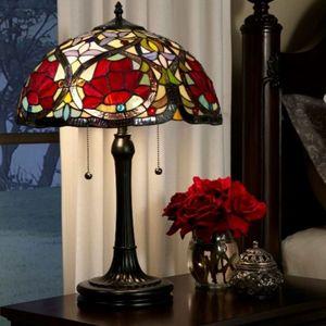 lampe tiffany fleur
