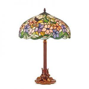 lampe décorative vitrail tiffany