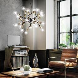 lampe suspendu boule design