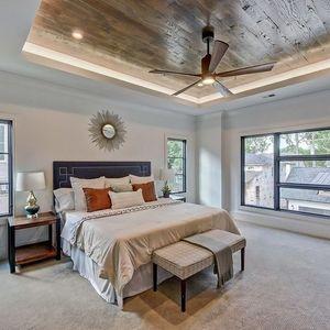 ventilateur plafond avec lumière en bois patricia