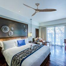 ventilateurs de plafond design en bois
