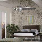 ventilateur plafond silencieux design avec luminaire enigma fanimation