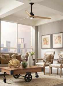 ventilateur plafond ultra silencieux spitifire du fabricant ventilation fanimation
