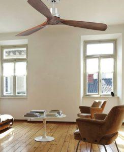 ventilateur de plafond lantau avec 3 pâles en bois