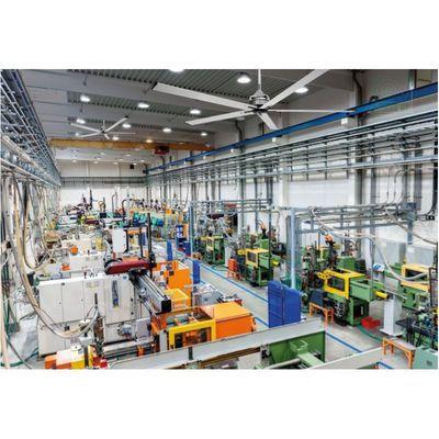 Ventilateur Plafond Industriel HVLS & Destratificateur