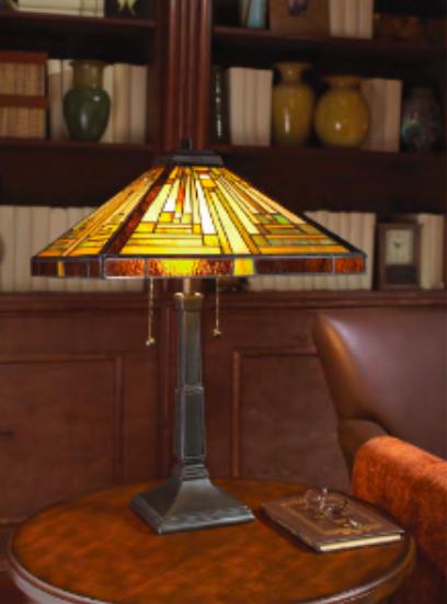 Lampe Tiffany art deco