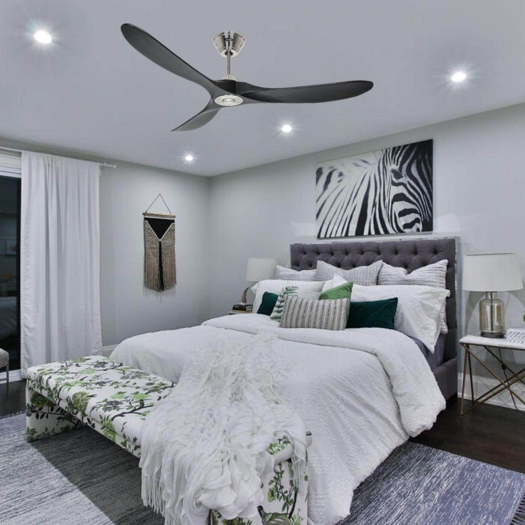 ventilateur de plafond silencieux pour la chambre