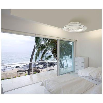 alisio ventilateur sans pale design avec lumière