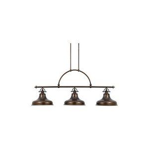 luminaire billard emery bronze quoizel