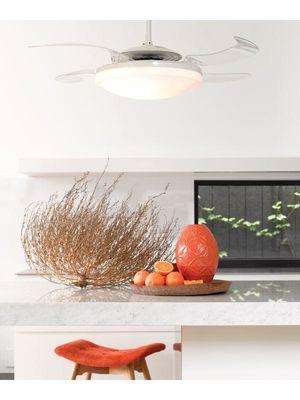 ventilateur de plafond fanaway retractable
