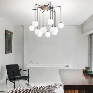 suspension boule design araignee rhapsody ideal lux