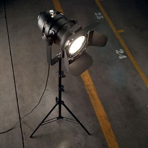 lampadaire vintage industriel movie ideal lux