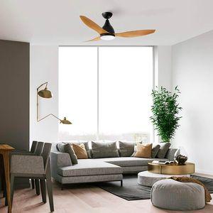 ventilateur de plafond avec lumière silencieux moteur DC Martec Fans