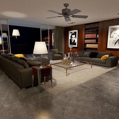 ventilateur plafond vintage eco elements casafan