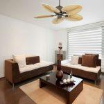 ventilateur de plafond colonial tropical