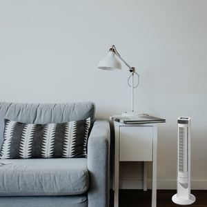 colonne de ventilation salon